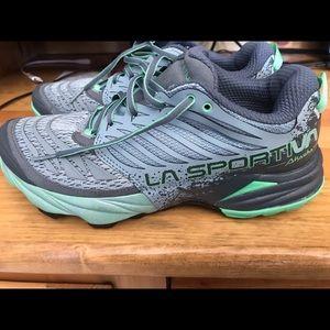 Used, Women's La Sportiva Akasha Trail Shoes for sale